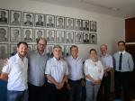 ACIEI RECEBE VISITA DE REPRESENTANTES DA ASSOCIAÇÃO COMERCIAL DE ANDRADAS