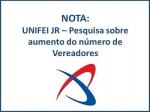 UNIVERSIDADE FEDERAL DE ITAJUBÁ DIVULGA NOTA SOBRE PESQUISA DA UNIFEI JR.
