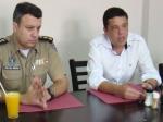 ACIEI RECEBE COMANDANTE DA POLÍCIA MILITAR