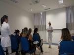 COLABORADORAS DA ACIEI PARTICIPAM DE PALESTRA SOBRE CÂNCER DE MAMA