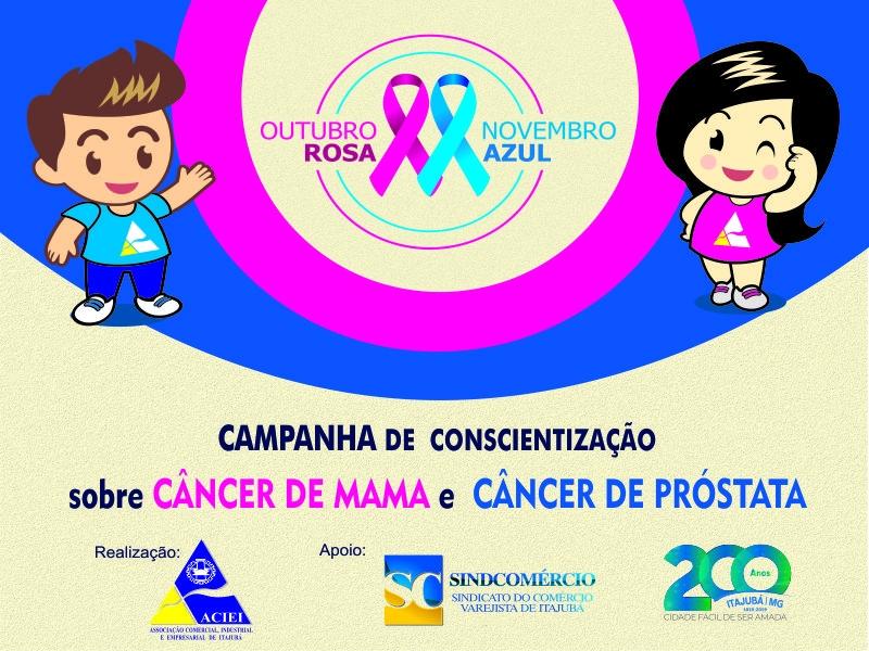 ACIEI PROMOVE SÉTIMA EDIÇÃO DA CAMPANHA OUTUBRO ROSA / NOVEMBRO AZUL
