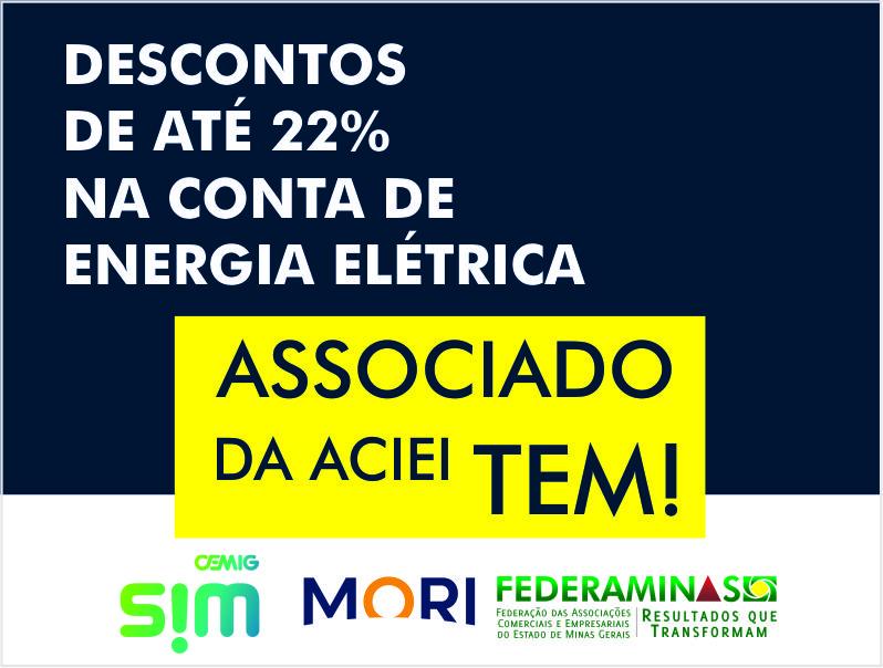 ACIEI FIRMA PARCERIA PARA BAIXAR CONTA DE ENERGIA DAS EMPRESAS ASSOCIADAS